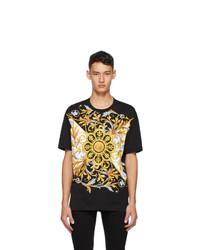 Versace Black Barocco Mitchell T Shirt