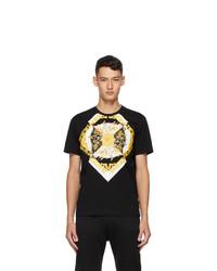 Versace Black Barocco Taylor T Shirt