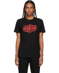 Diesel Black Be Brave T Shirt