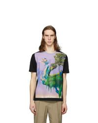 Valentino Black Blind Owl T Shirt