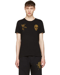 Alexander McQueen Black Bullion T Shirt