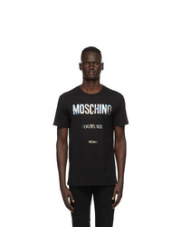 Moschino Black Couture T Shirt