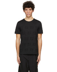 Fendi Black Ff T Shirt