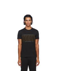 Fendi Black Forever Mesh T Shirt