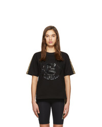 Fendi Black Forever Roma T Shirt