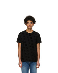 Fendi Black Forever T Shirt