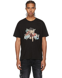 Amiri Black Graphic Cherub T Shirt