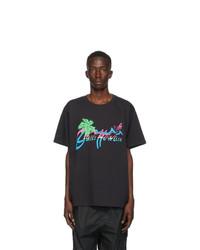 Gucci Black Hawaii T Shirt