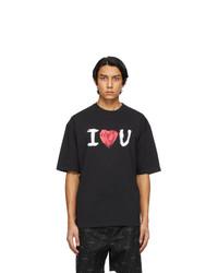 Balenciaga Black I Love U T Shirt