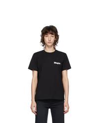 MSGM Black Logo T Shirt