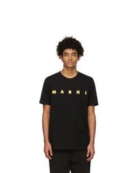 Marni Black Logo T Shirt
