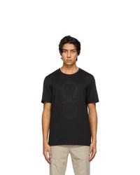 Salvatore Ferragamo Black Logo T Shirt