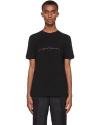 Giorgio Armani Black Logo T Shirt