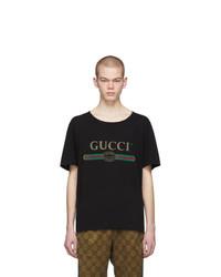 Gucci Black Logo T Shirt