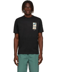 Ps By Paul Smith Black Matchbook T Shirt