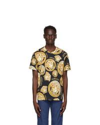 Versace Black Medusa Amplified T Shirt