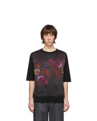 Dries Van Noten Black Merino Javelin T Shirt