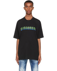DSQUARED2 Black Mirror Slouch T Shirt