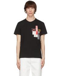 Alexander McQueen Black Mix Labels T Shirt