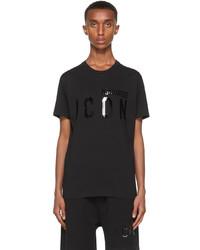 DSQUARED2 Black Monotone Icon T Shirt