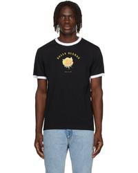 Ernest W. Baker Black Organic Print Belle Blonde T Shirt
