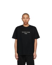 Wooyoungmi Black Outline Logo T Shirt
