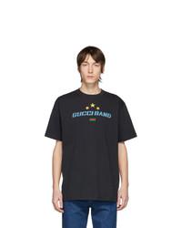 Gucci Black Oversize Band T Shirt