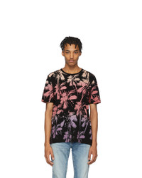 Saint Laurent Black Palm T Shirt