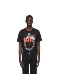 Givenchy Black Rare Print Patch T Shirt