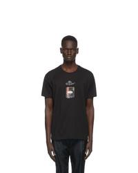 Givenchy Black Rare Printed Patch T Shirt