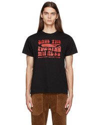 Phipps Black Save The Fucking Whales T Shirt