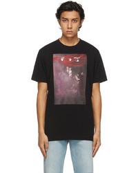 Off-White Black Sprayed Caravaggio Slim T Shirt