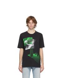 Diesel Black T Jubind Slits T Shirt