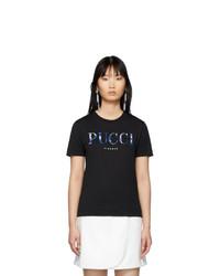Emilio Pucci Black T Shirt