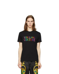 VERSACE JEANS COUTURE Black T Shirt