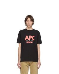 A.P.C. Black Taylor T Shirt