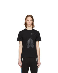 Comme Des Garcons Play Black Upside Down Heart T Shirt