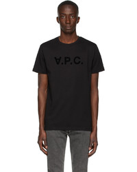 A.P.C. Black Vpc T Shirt