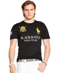 Polo Ralph Lauren Black Watch Performance Jersey Crew Neck T Shirt 8757af34b4dc3