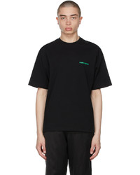 Opening Ceremony Black Word Torch T Shirt