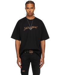 Dolce & Gabbana Black Y T Shirt