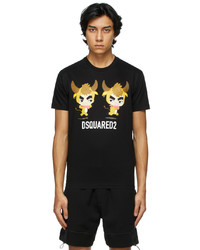 DSQUARED2 Black Year Of The Ox T Shirt