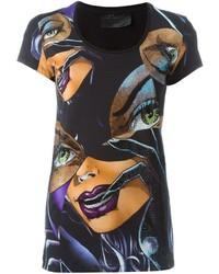 Philipp Plein Catwoman Print T Shirt