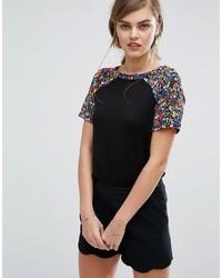 Oasis Daisy Print T Shirt