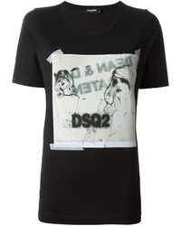 Dsquared2 Sketch Print T Shirt