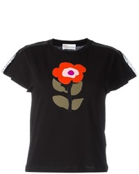 RED Valentino Floral Print T Shirt