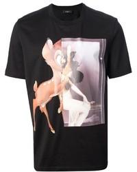 Givenchy Bambi Printed T Shirt