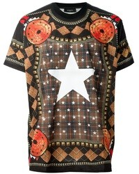 Givenchy Star Print T Shirt