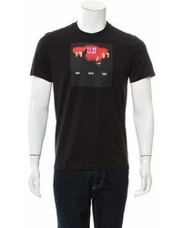Givenchy Graphic Print Crew Neck T Shirt W Tags