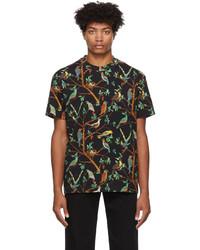 Kenzo Graphic Print Seasonal T Shirt